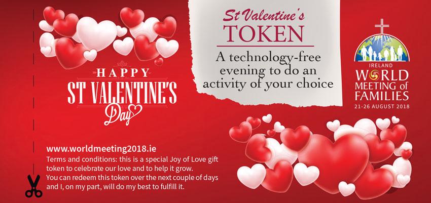 St Valentine S Day Gift Tokens Amoris