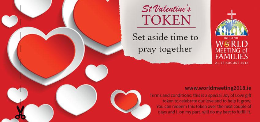 St valentines day gift tokens amoris st valentine day book of vouchers irish negle Choice Image