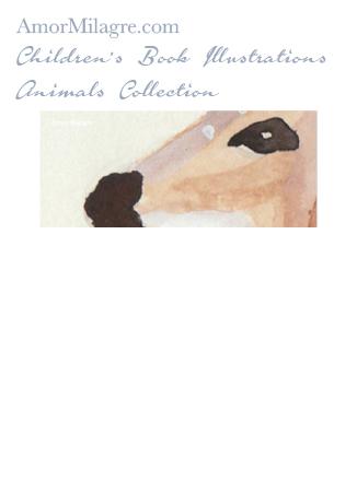 Amor Milagre Children's Book Animals Illustrations The Fawn Deer 2 nursery amormilagre.com