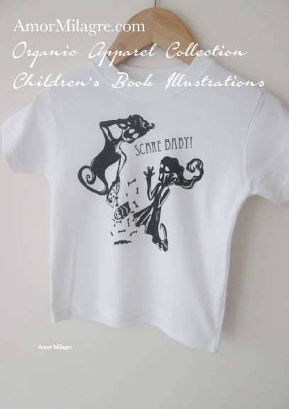 30a46bcb4 Amor Milagre Boo Ghosts Halloween 1 Organic Cotton Toddler Graphic Tee  Shirt Collection Children's Book Unisex