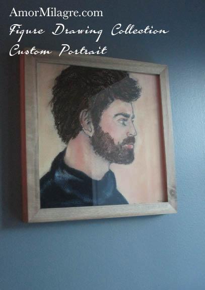 Amor Milagre Custom Portrait Man Profile Figure Drawing Collection 1 amormilagre.com