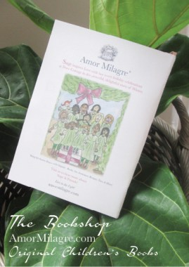 Amor Milagre Presents Sage in Winter 11 holiday Ethical Bookshop organic original children's book girls Baby & Child amormilagre.com