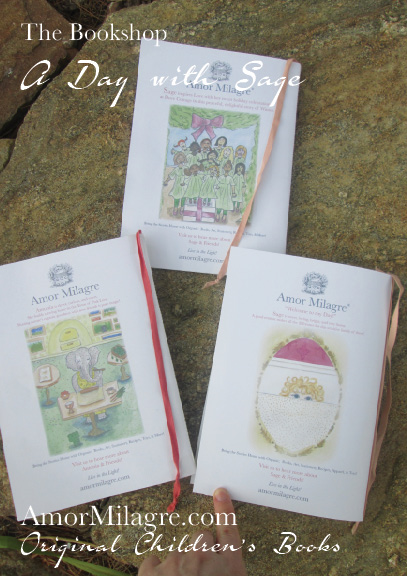 Amor Milagre Presents A Day with Sage ethical original children's book amormilagre.com