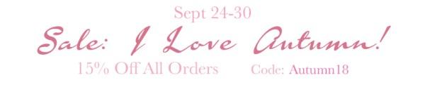 Amor Milagre SALE! I Love Autumn Fall Sale 15% off 2018 The Shop at Dove Cottage Baby & Child Collection Art Design Organic Nursery Artwork amormilagre.com.jpg