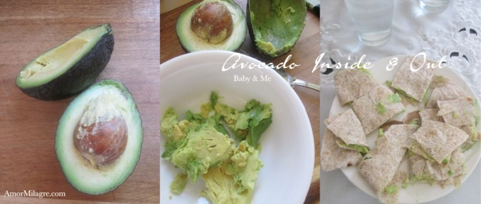 Amor Milagre Fresh Avocado Face Mask Snacks Baby & Me Organic Vegan Non-Toxic natural beauty Recipe amormilagre.com