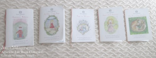 Amor Milagre Presents A Gentle Life Book Collection ethical organic original children's book amormilagre.com nursery bookshop bunny vegetables vegan children's books 5