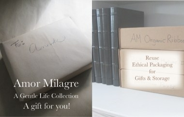 Amor Milagre Ethical Sustainable Reusable Packaging Boxes Office storage Spring Collection Light 2019 Custom Design Art Organic Vegan Gifts Baby & Child amormilagre.com