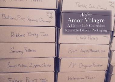 Amor Milagre Shop Reusable Ethical Packaging amormilagre.com