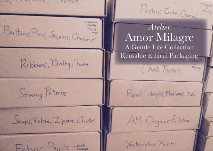 Amor Milagre Shop Reusable Ethical Packaging amormilagre.com