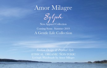Amor Milagre Spring 2019 Sylph Ocean Ethical Organic Apparel Collection Fashion Personal Style women's clothing toddler Handmade Gift Shop Art Apparel Vegan Baby & Child amormilagre.com