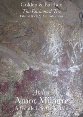 Amor Milagre Shop Golden Bird Nestled In 1 Golden & Earthen The Enchanted Tree New Children's Book & Art Collection Autumn 2019 amormilagre.com