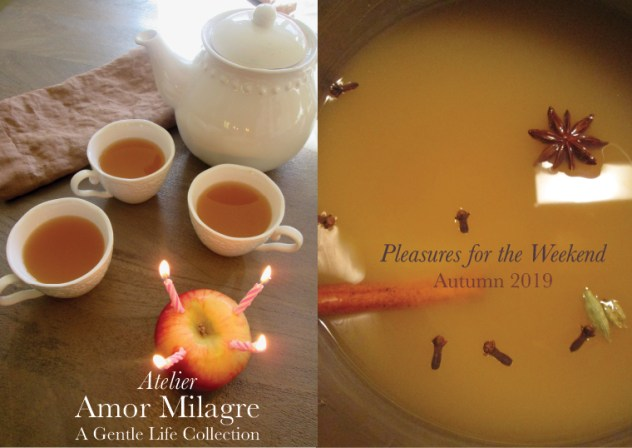 Amor Milagre Shop Pleasures for the Weekend Autumn Mulling Spices Apple Cider Fall Birthday Candles Interior Decor 2019 Ethical Gift Shop amormilagre.com