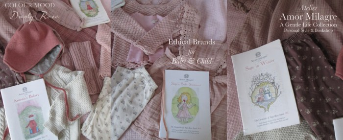 Amor Milagre Favourite Ethical Brands Beloved Baby & Child, Holiday Gift Guide Dusty Rose Blush Pink Colour Mood Fashion Personal Style Handmade Gift Shop Children's Books 5 amormilagre.com