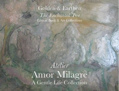 Amor Milagre Shop Golden Peaceful Land Tree Golden & Earthen The Enchanted Tree New Children's Book & Art Collection Autumn 2019 amormilagre.com