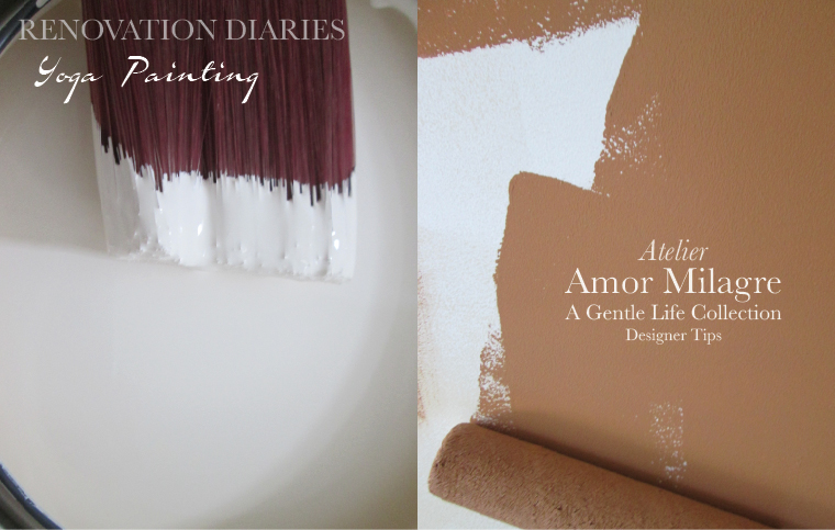 Amor Milagre Yoga Painting Home Renovation Diaries Designer Tips Ethical Gift Shop amormilagre.com