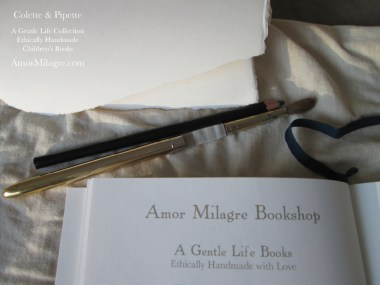 Amor Milagre Bookshop Colette & Pipette Won't Use the Toilet New Ethically Handmade Children's Book amormilagre.com