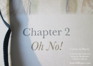 Amor Milagre Colette & Pipette Won't Use the Toilet New Ethically Handmade Children's Book Oh No! amormilagre.com