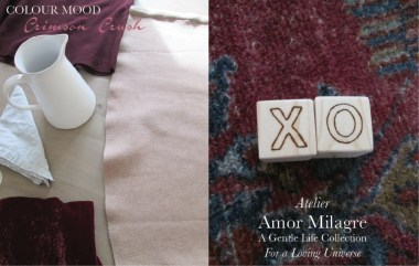 Amor Milagre I Love! Sweet Charity Valentine's Day Sale, Crimson Crush Colour Mood Fashion Personal Style 2020 Atelier Art Books Children Parent Ethical Gift Shop xo amormilagre.com