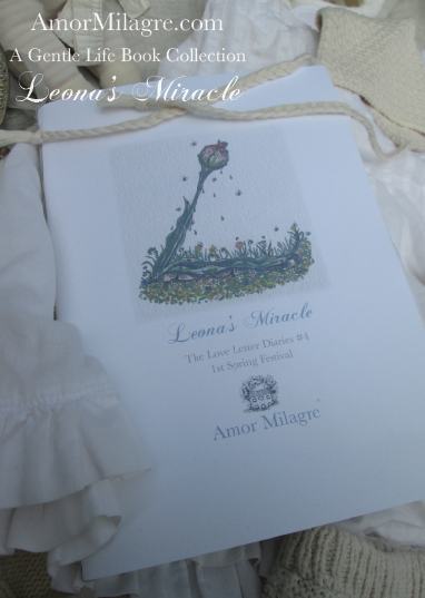 Amor Milagre Leona's Miracle 1st Spring Festival The Love Letter Diaries #4 ethical book series amormilagre.com 4