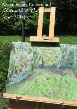 Amor Milagre Garden Peonies Oil Painting, Art Prints, Cards amormilagre.com 2