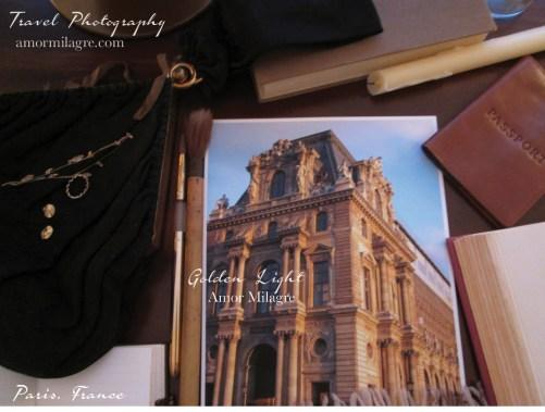 Amor Milagre Golden Light Building Paris France Travel Photography Art Prints Greeting Cards amormilagre.com