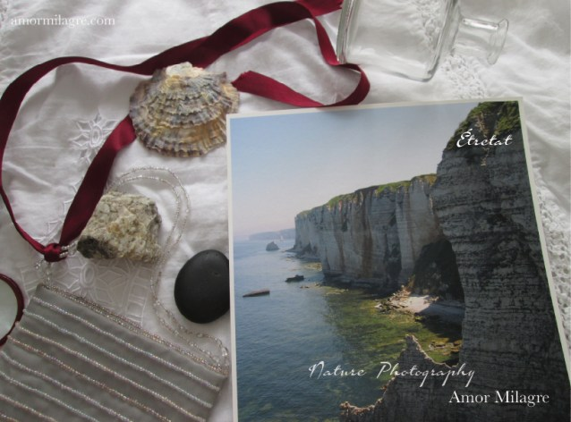 Étretat France Ocean Beach Cliffs Photography Art Print Amor Milagre amormilagre.com 3