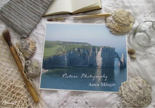 Étretat France Ocean Beach Seascape Photography Art Print Amor Milagre amormilagre.com 1