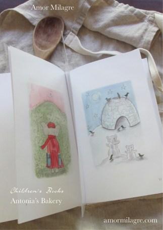 Amor Milagre Antonia's Bakery children's book amormilagre.com Book Release 3