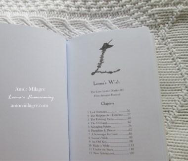 Leona's Homecoming Novel Amor Milagre Book Release amormilagre.com 2