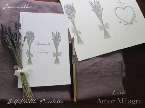 Amaranthe Novel by Amor Milagre Self-Health Book Lavender French NYC 16 amormilagre.com