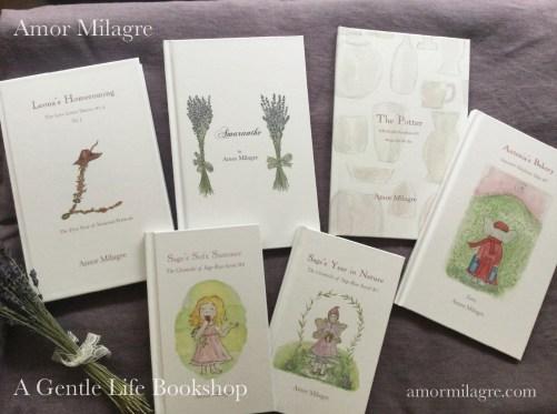 Amor Milagre A Gentle Life Bookshop Loving Books amormilagre.com