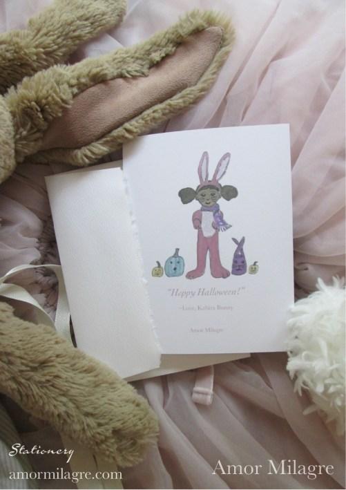 Amor Milagre Kabira Hoppy Halloween Children Greeting Card 1st amormilagre.com