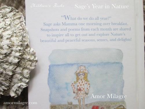 Amor Milagre Sage's Year in Nature Children's Book amormilagre.com 3