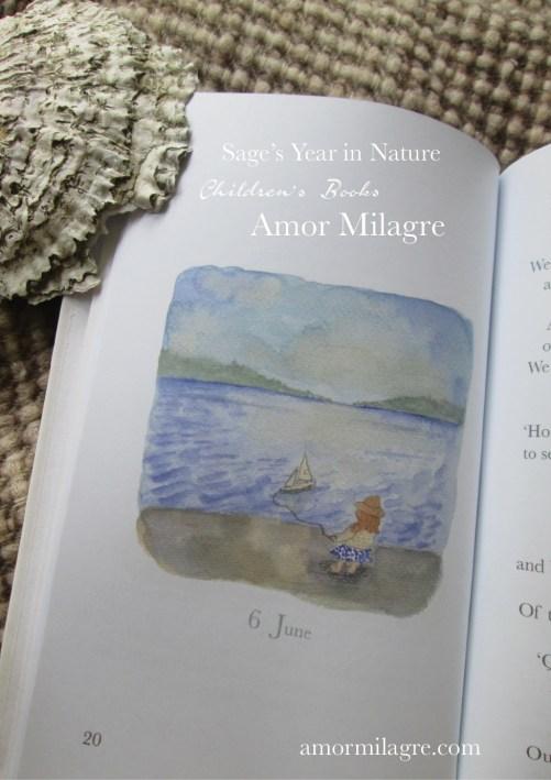 Amor Milagre Sage's Year in Nature Children's Book amormilagre.com 7