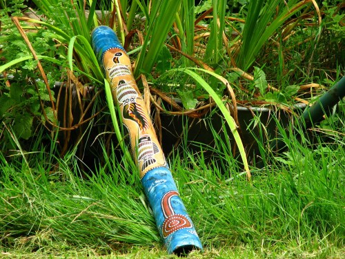 didgeridoo australiano