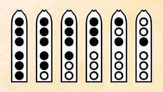 escala primera flauta nativa americana