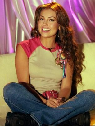 Thalia in Argentina promoting her new album (1)