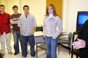Thalia In School Appearance For The What's Your Anti-Drug Promotion (5)