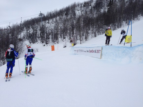 The WC jump in Geilo