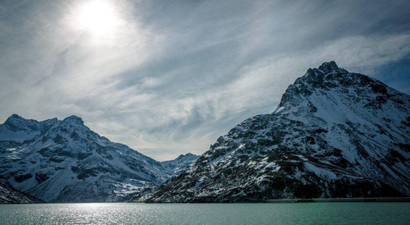 Tal der Tränen - cold glacier snow dawn