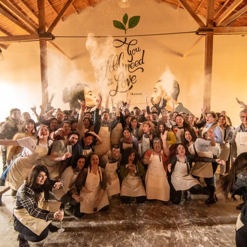 Nuestros amigos de Las Majadas de Pirque celebran su Anivesarío en nuestra casa.