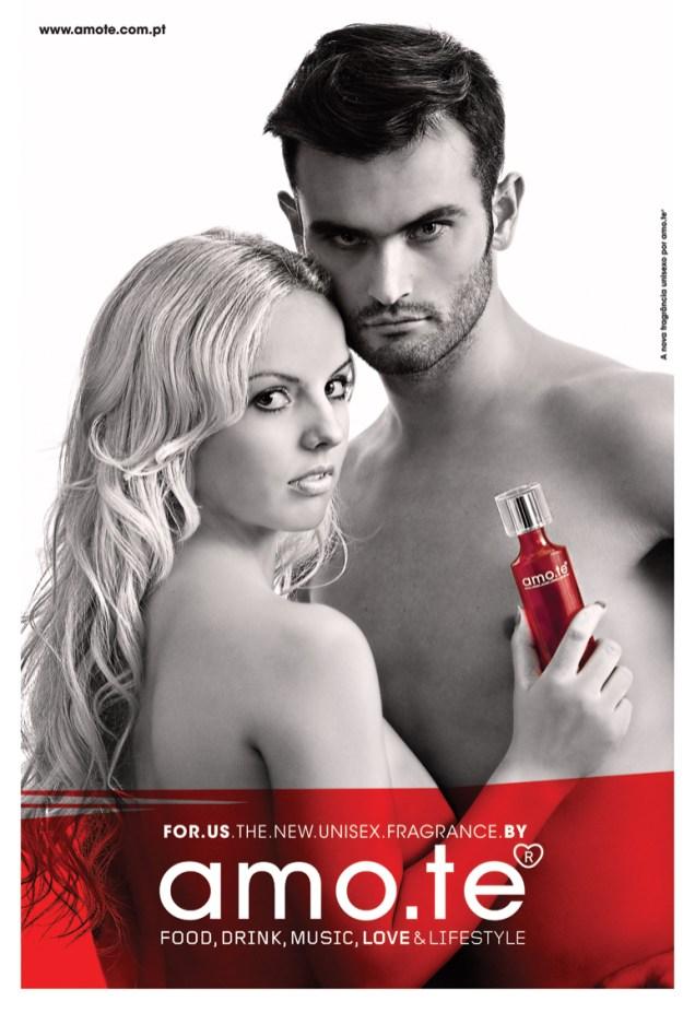 Perfume Amote For Us Promocional