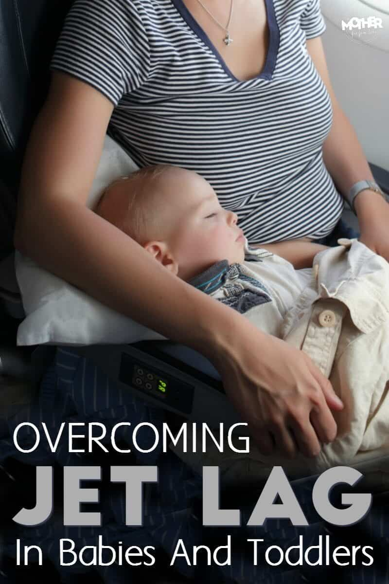 Are your children experiencing jet lag? Here are some tips for dealing with baby jet lag and toddler jet lag so you can sleep.