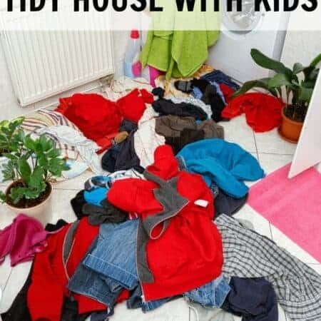 How to Keep a House Tidy With Kids
