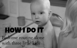 bedtime routine for toddlers and preschoolers