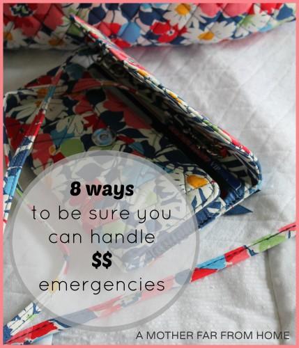 8 ways to ensure you can handle financial emergencies #saving #smart #money