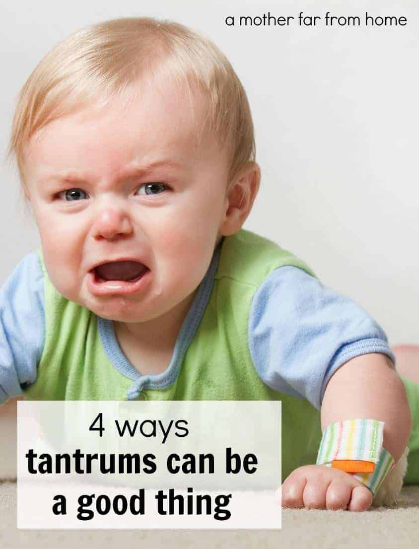 4 ways tantrums in toddlers can be a good thing
