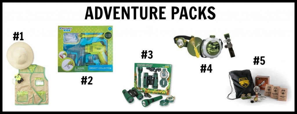 gift ideas and adventure packs for kids who love the great outdoors