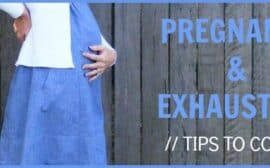 Pregnancy and exhaustion go hand in hand. Here are some tips to cope