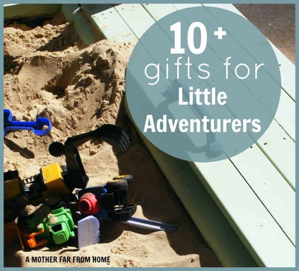 10 gift ideas for your little adventurers